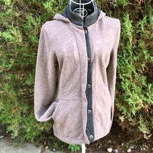 Horny Toad Wool Blend Hooded Jacket
